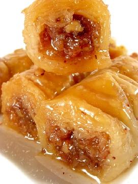 Баклава с орехи